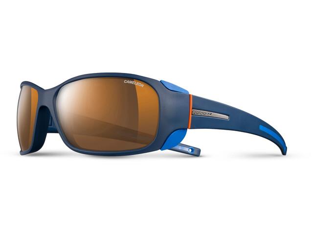 Julbo Montebianco Cameleon Lunettes de soleil, blue/blue/orange-brown